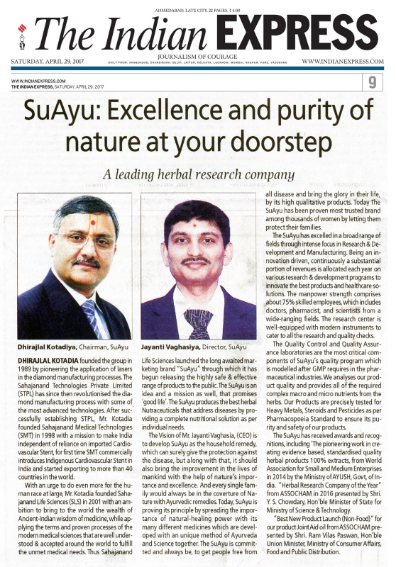 SuAyu: Excellence and purity of nature at your doorstep