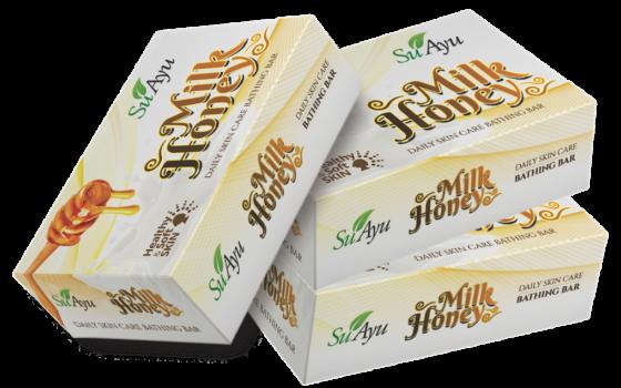 Milk Honey Soap (Pack of 3)